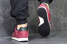 Мужские кроссовки Lacoste замшевые бордовые 45р, фото 3