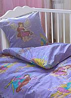 Комплект постельного белья детский Ранфорс Leleka-textile Феи