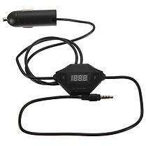 3.5 мм FM-передатчик+Автомобильное зарядное устройство USB радио адаптер для MP3 MP4 для, фото 2