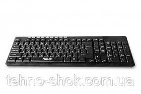 Клавиатура проводная мультимедийная HAVIT HV-KB312, multimedia wired USB