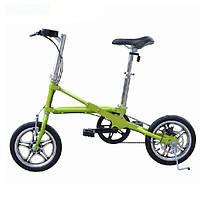 Складной велосипед Мини-велосипед 14 дюймов Колесный сверхлегкий велосипед