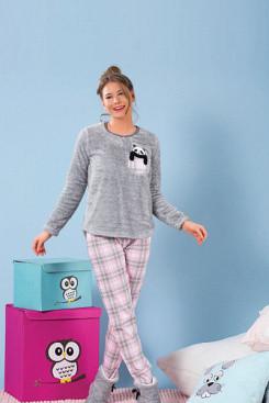 Пижама женская теплая флисовая - Интернет-магазин Vitrina Shop в Днепре ca27459475f55