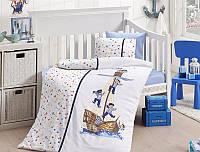 Комплект постельного белья детский First Choice Satin Bamboo Sailors