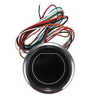 Универсальный 2 дюйма 52мм LED метр манометр давления масла для мотора черный