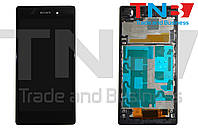 Сенсор+матрица SONY Xperia Z1 C6903 Черный