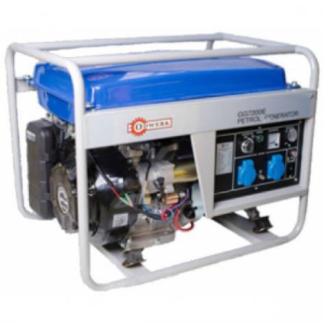 Бензиновый генератор Odwerk GG7200E(электро стартер)Без щеточный-Асинхронный, фото 2