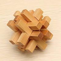 Смешные китайские традиционные деревянные развивающие игрушки пазлы замок