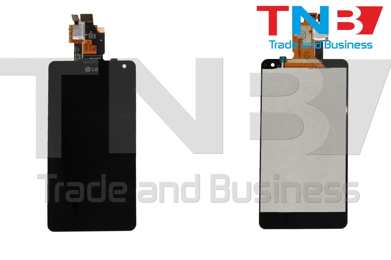 Сенсор+матрица LG E975 Черный ОРИГИНАЛ