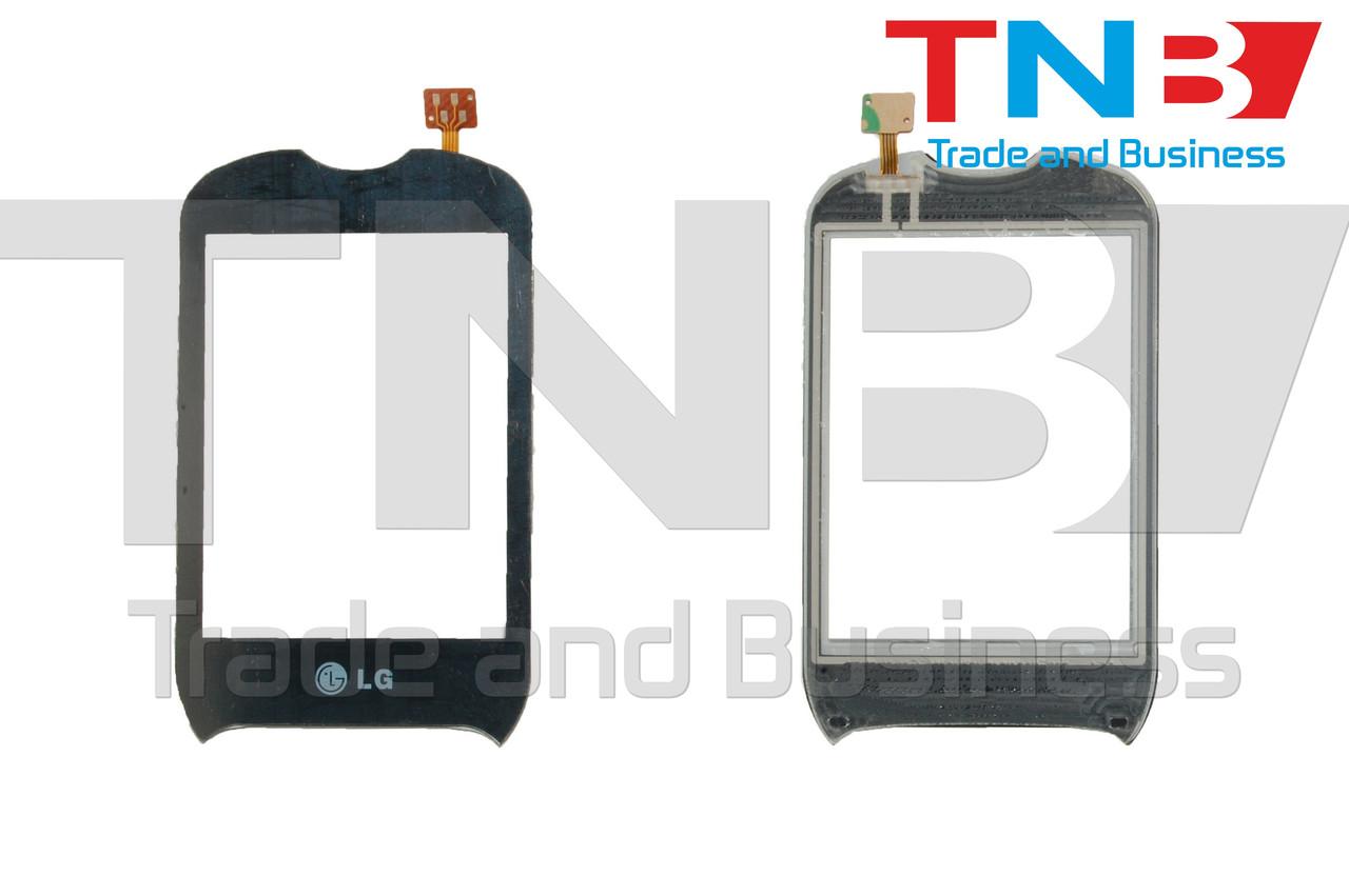 Сенсор LG P350 Черный