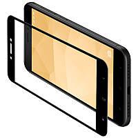 Защитное стекло для Xiaomi Redmi 4x Black Yomo - у вашего смарта больше не будет синяков на лице! , фото 1