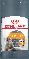 Royal Canin (Роял Канин) HAIRandSKIN Care корм для кошек здоровая кожа и блеск шерсти, 2 кг