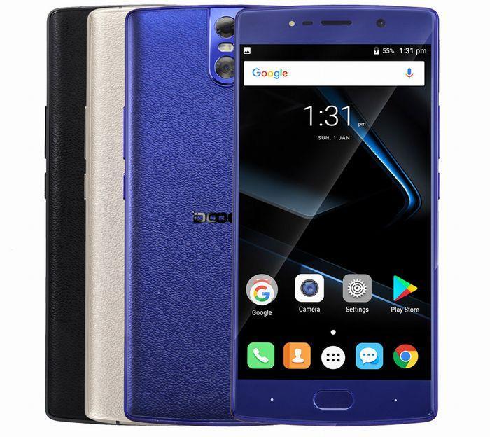"Смартфон Doogee BL7000 4/64Gb, 13/13Мп, 8 ядер, 2sim, экран 5.5"" IPS, 7060mAh, GPS, 4G, Android 7.0"
