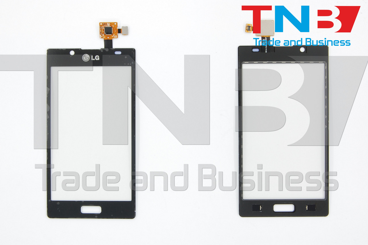 Сенсор LG P705 Optimus L7 Черный ОРИГИНАЛ