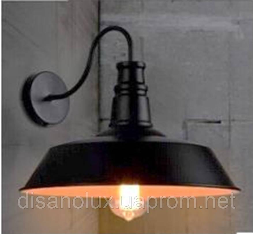 Светильник бра LOFT  XLG-N49  Ф26см  black