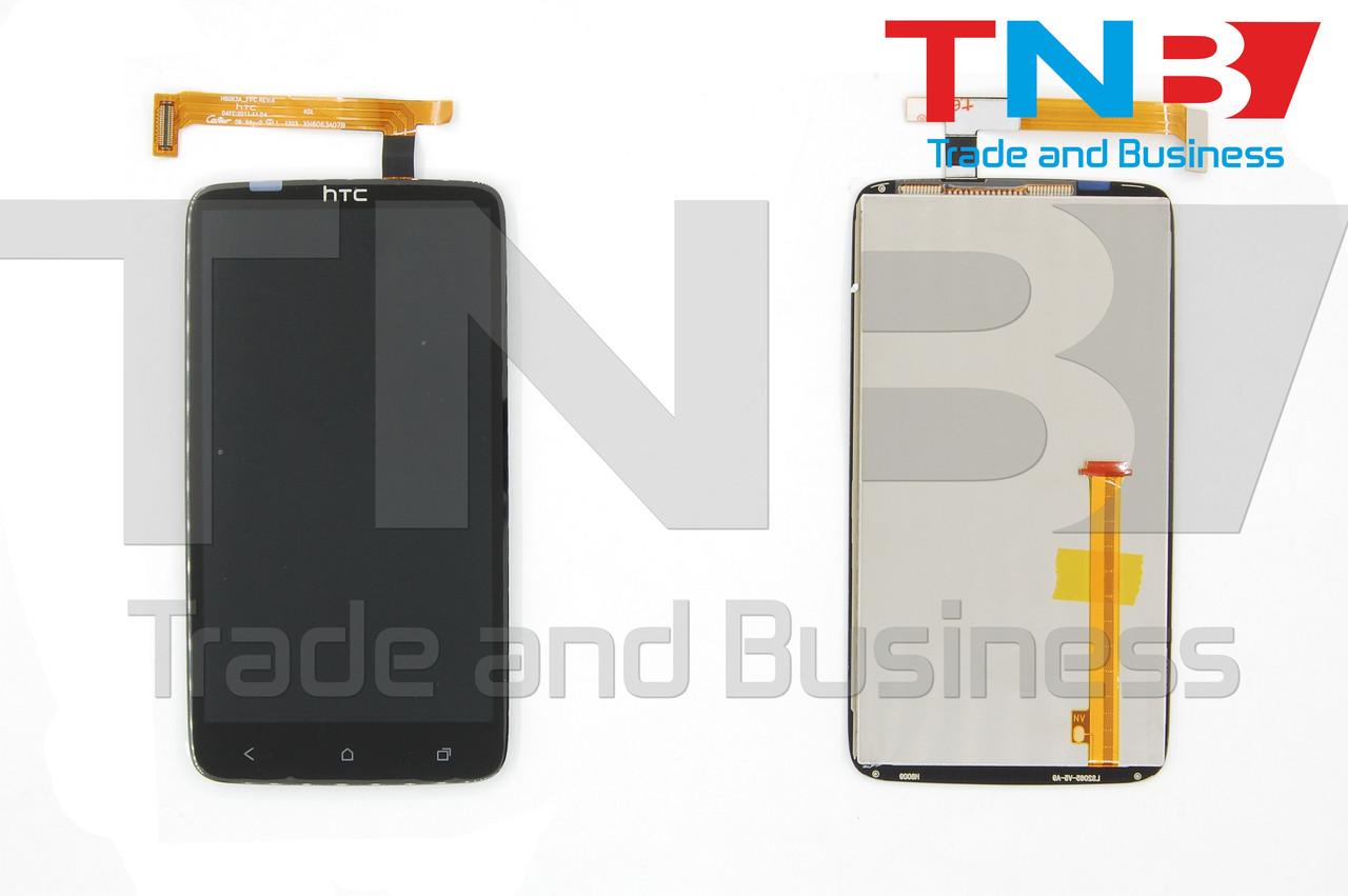 Сенсор+матрица HTC One X (S720e) Черный ОРИГИНАЛ
