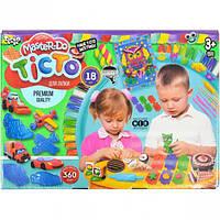 """Тесто для лепки """"Master Do"""" укр. коробка 18 цв. TMD-03-05"""