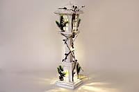 Декоративный фонарь с подсветкой (10 LED-ламп) 60 см