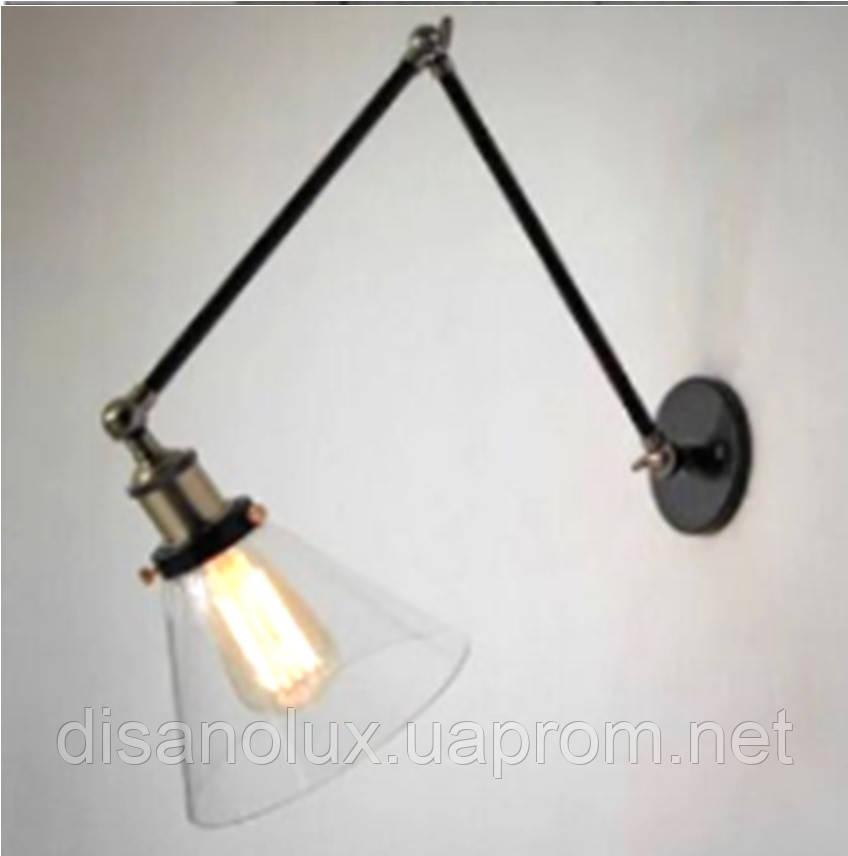 Светильник бра LOFT  WM-B5002  20*19 см black