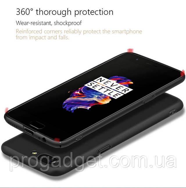 Защитный чехол Freeson для One+5Protective Case black - чтобы любимому смартфону было не больно падать!