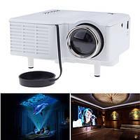 UC28 + Mini HD мультимедийный светодиодный проектор для домашнего кинотеатра AV VGA SD USB HDMI