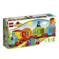 Конструктор LEGO DUPLO Поезд Считай и играй Number Train Building Set10847, фото 1