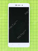 Дисплей Xiaomi Redmi 4A с сенсором, панелью Оригинал Белый