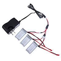 Набор зарядки аккумулятора wltoys 7.4v зарядное устройство 3×battery зарядка кабеля