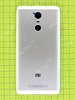Задняя крышка Xiaomi Redmi Note 3 Оригинал Серебристый