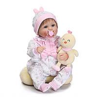 Очаровательная кукла Аннетт, реборн, 42см, мягконабивная, в подарочной коробке