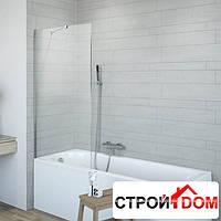 Акриловая ванна с ножками Radaway Nea 170x70 WA1-02-170x070U с душевой шторкой Classic PNJ 80 211080-001
