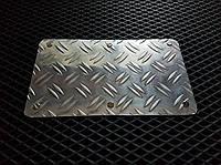 Алюминиевый подпятник на водительский автоковрик