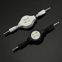 3.5мм мужчины к мужчине вспомогательный выдвижной стерео MP3 аудио кабели переходники