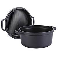 Кастрюля и сковорода гриль MAESTRO MR-4124