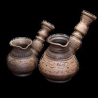 """Турка глиняна """"Селянська"""" 0,15л розміри в асортименті"""