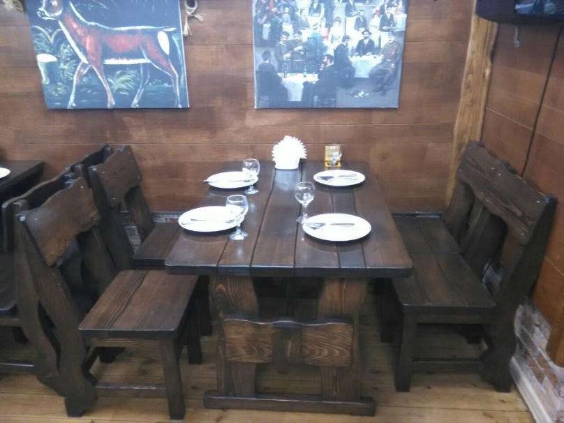 Деревянная мебель для ресторанов, баров, кафе в Нежине