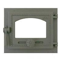 Дверца для печи 470 SVT 240х280 мм (герметичная, застекленная)