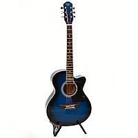 Акустическая гитара Bandes AG831C BL 38'', уменьшенная дека
