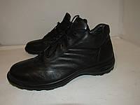 Ecco Shock Heel_Кожа Таиланд шикарные ботинки 42р ст.27см H39