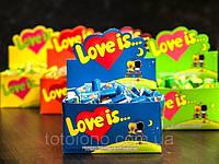 Love is   Жвачка как наполнение свадебных бонбоньерок