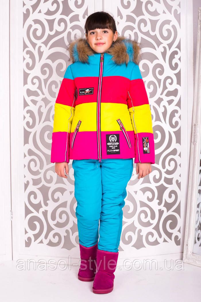Комбинезон Малибу-2 лыжный для девочки