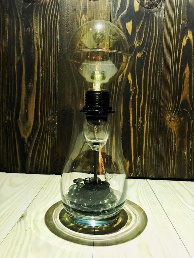 Креативный светильник ваза