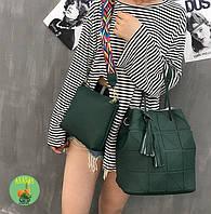 Комплект сумочек зеленого цвета, фото 1