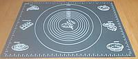 Силиконовый коврик с разметкой для коржей 64*45 см