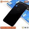 Защитное стекло на заднюю панель Mocolo iPhone X (Black) 3D