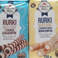 Трубочки Cukiernia Roza Rurki в ассортименте 280г, фото 2
