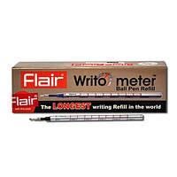 """Стержень шариковый """"Writo-Meter"""" 0.5 мм 10 км ч.Синий Flair"""
