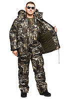 "Теплый костюм на зиму для рыбака и охотника ""Снайпер"" размер 52-54"