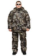 "Теплый костюм на зиму для рыбака и охотника ""Снайпер"" размер 56-58"