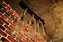 Подвесная люстра бревно с вазами