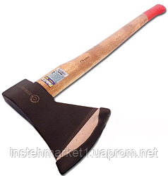 Топор кованый Сталь 1000 гр. деревянная ручка (арт.44018)
